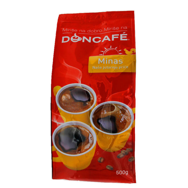 minas, kaffee, doncafe, mlevena, gemahlen 500gr