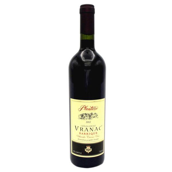 vranac barrique, plantaže, rotwein, vino