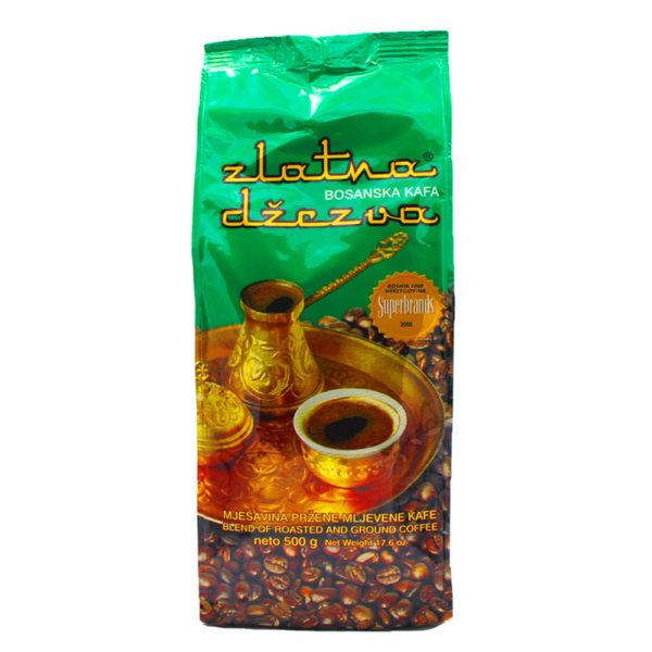 zlatna džezva, kafa, kava, kaffee, bosnien, 500gr